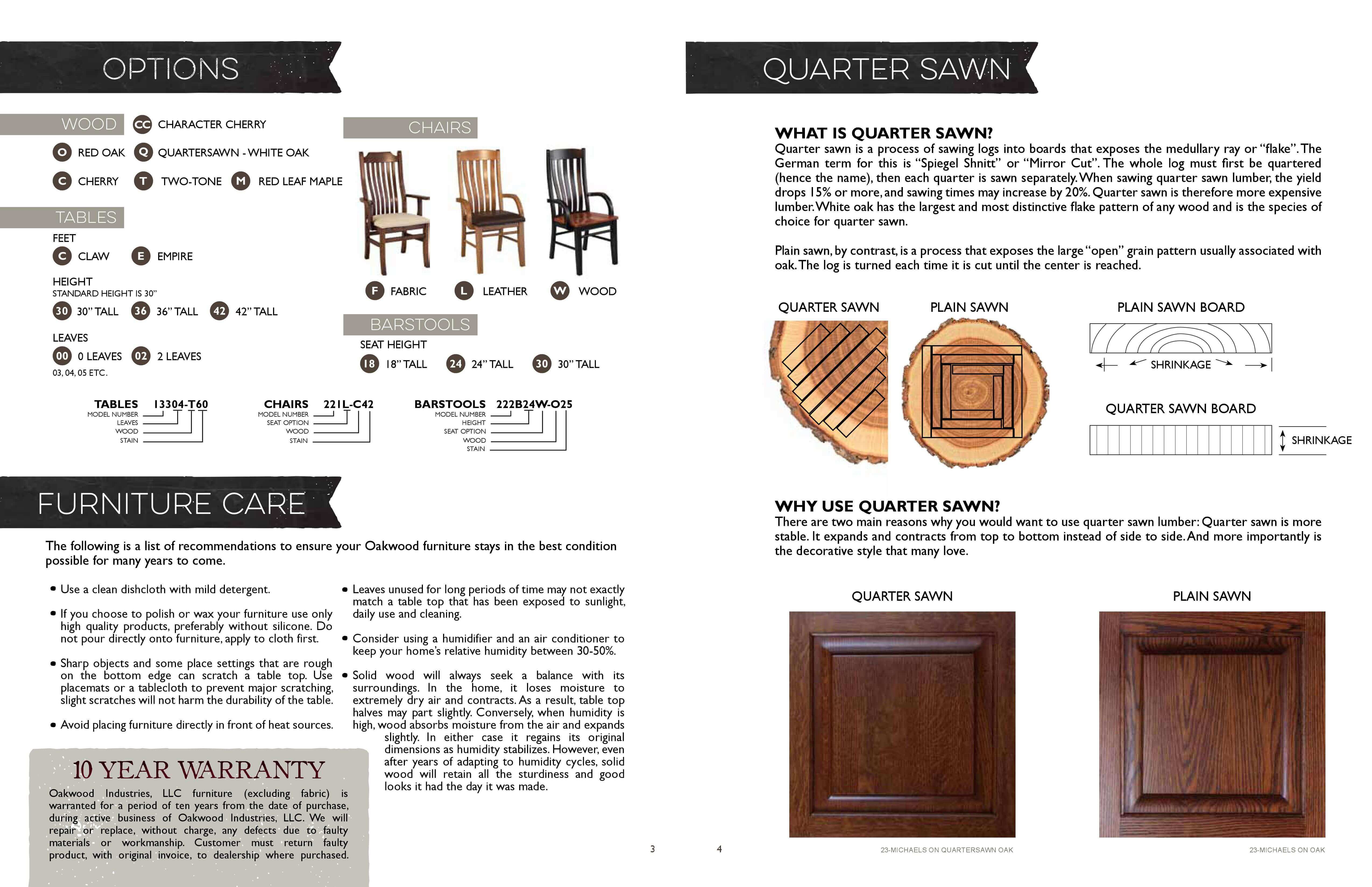 Oakwood Catalog